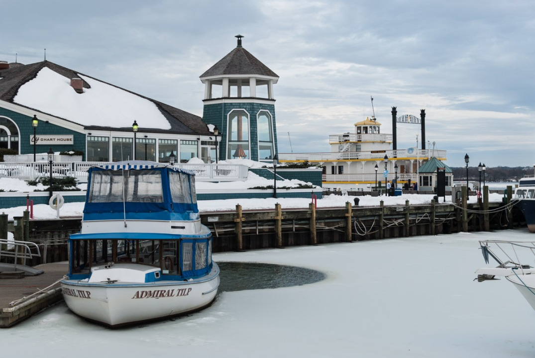 Wintry Dock, Old Town Waterfront