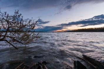 Potomac Sunset, Riverside Park. Nikon D200, Tokina 11-16mm 2.8, ISO 100, f/11, 1/3 sec.