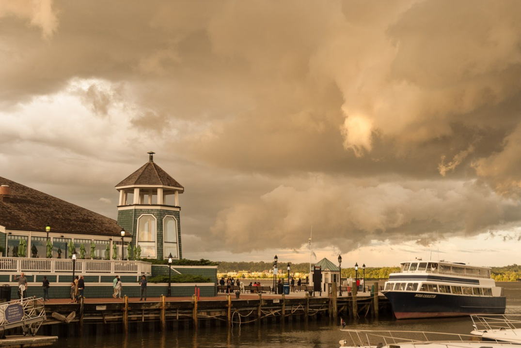 Stormy Dock, Old Town Waterfront